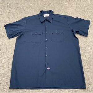 Men's 3XL Dickies Short Sleeve Button Down
